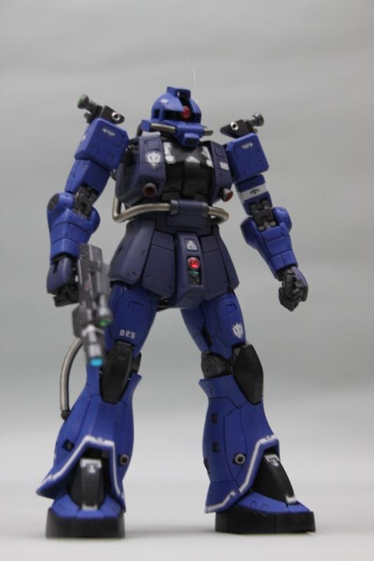 RG MS-06E Zaku Recon 強行偵測型渣古
